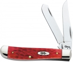 Case Dark Red Bone CV Mini Trapper Reviews